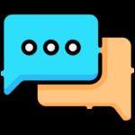 2 globos de conversación