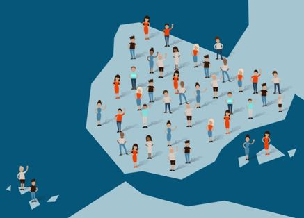 dibujo de mapa de España